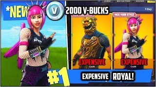 Expensive Skins Rant!!! (Fortnite Battle Royal)