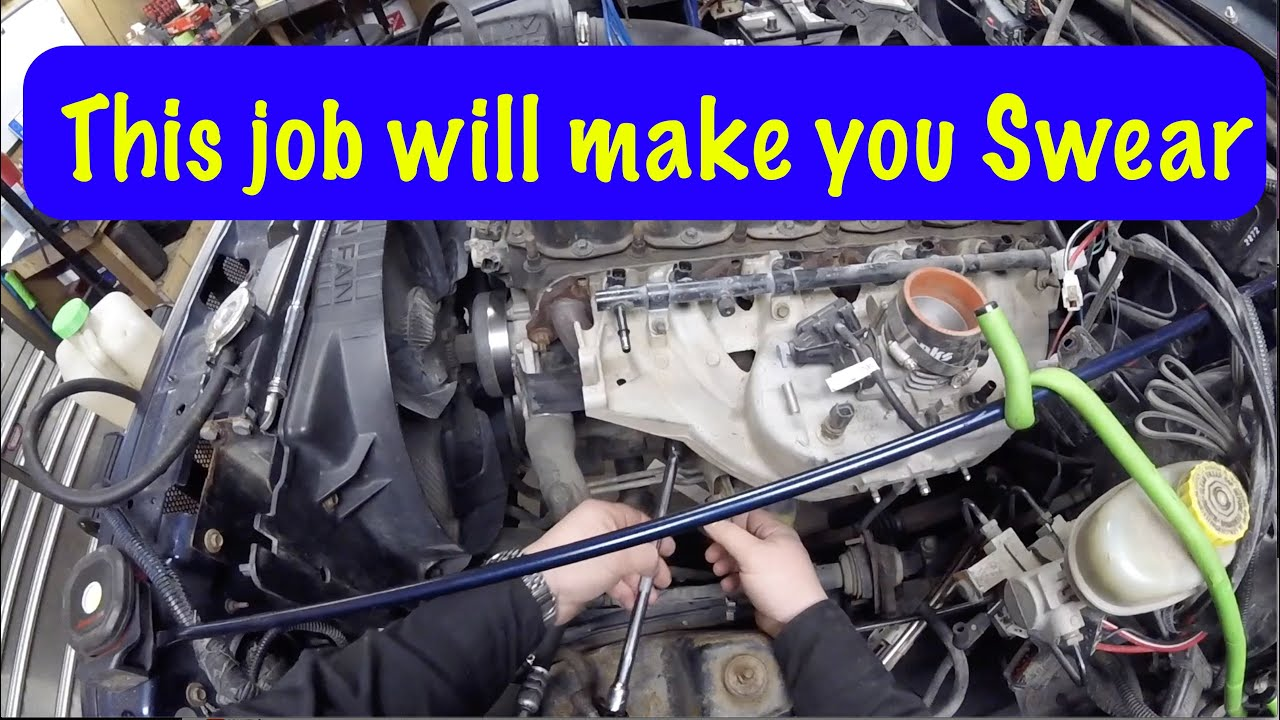 diy jeep 4 0 intake manifold removal detailed Banks Exuast On a 4 0 Jeep