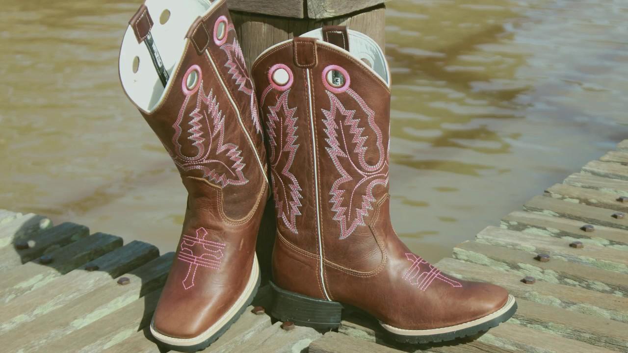 309777c3a140c Bota Western Feminina Made in Lida
