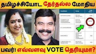 தமிழச்சியோட தேர்தல்ல மோதிய பவர்! எவ்வளவு VOTE தெரியுமா? | Tamil News | Tamil Seithigal