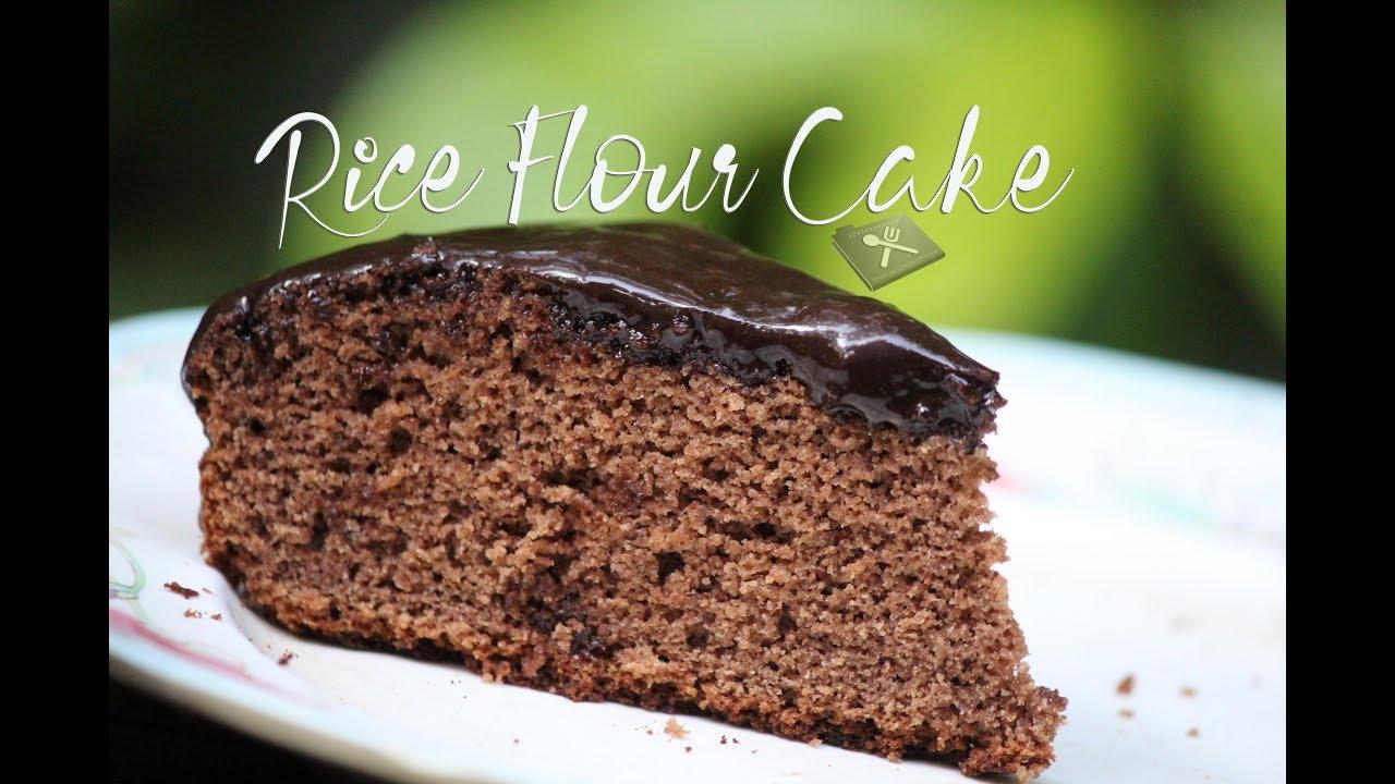 Rice Flour Cake    Gluten Free Chocolate Sponge Cake - YouTube