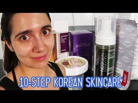I Tried A 10-Step Korean Skincare Routine For A Month