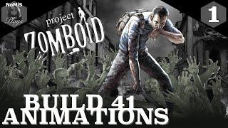 PROJECT ZOMBOID | ANIMATED | EPISODE 1 | BUILD 41 |