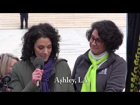 Ashley's 2020 March for Life Testimony