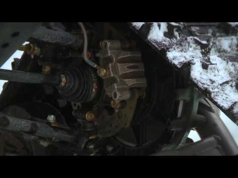 SnowTrax Reviews Camoplast 4S UTV Track System - YouTube