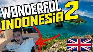 Gambar cover *REACTION* WONDERFUL INDONESIA 2 (English Reaction to New Wonderful Indonesia 2018)