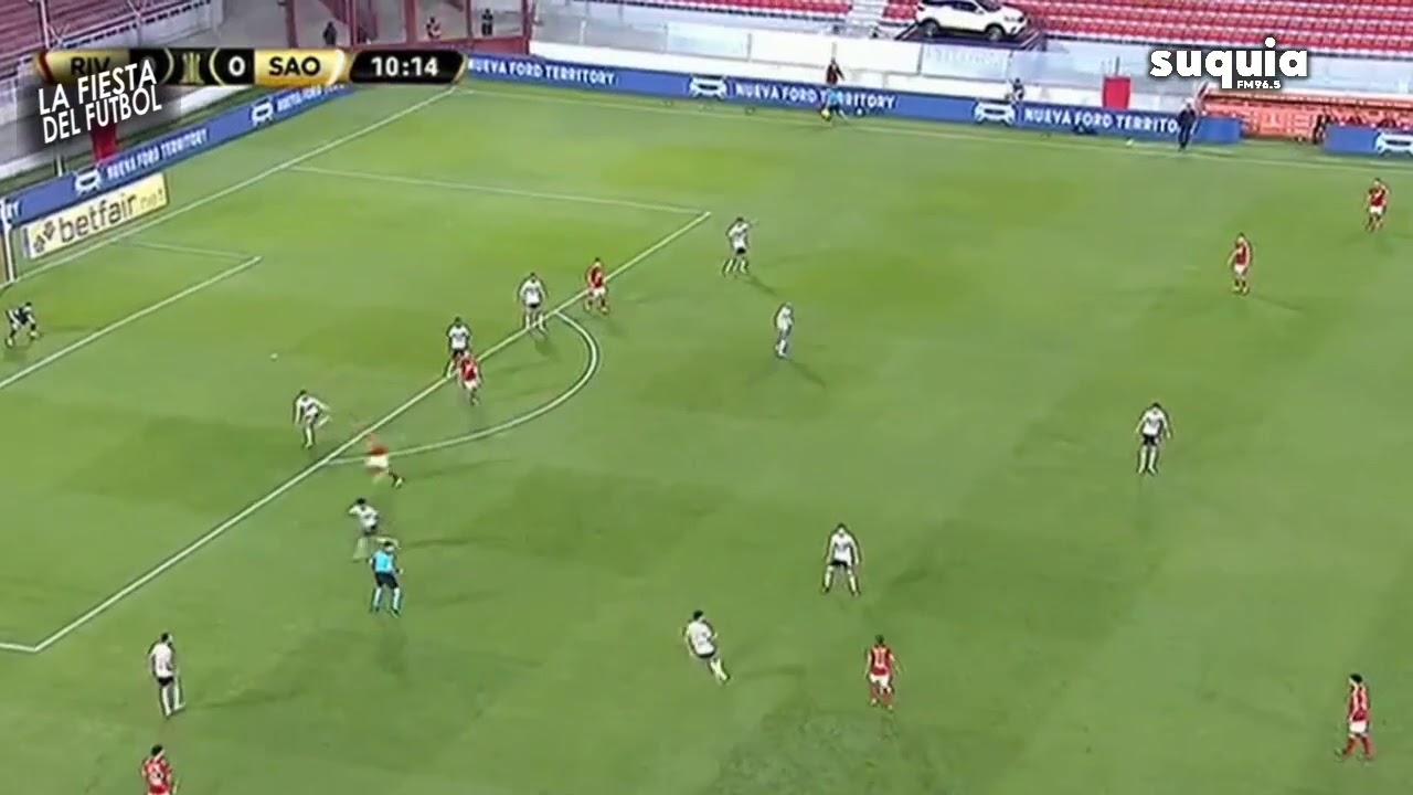 Gol de #River Álvarez Relata Matías Barzola vs. San Pablo (0-1)