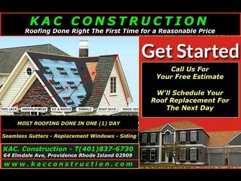 ROOF REPAIR PROVIDENCE RI 🌤✨  KAC. Construction (401)837-6730