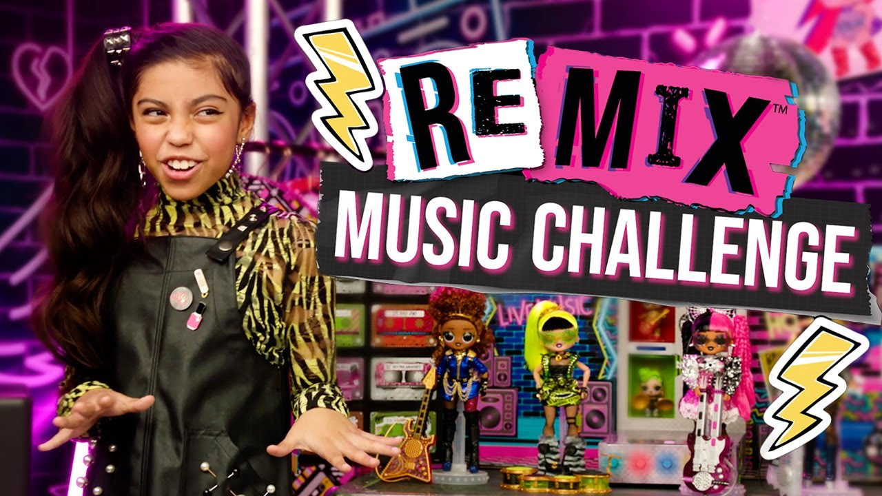 Get Ready To Rock Lol Surprise Remix Music Challenge Youtube