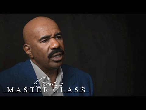 How the Stars Aligned the Exact Moment Steve Harvey Almost Quit Comedy | Oprah's Master Class | OWN