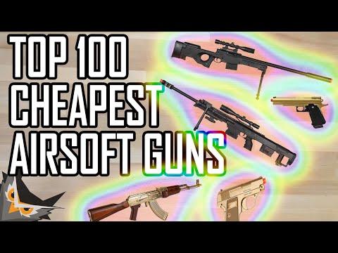 Top 100 Cheapest Airsoft Guns