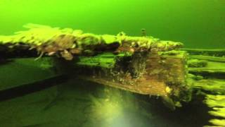 A.R. Noyes Coal Barge - Burlington Bay, Lake Champlain