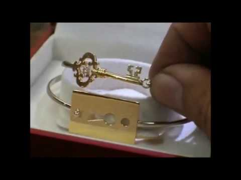 YARING PLATERO Video 58 - Making of 14K gold Couple Bangles