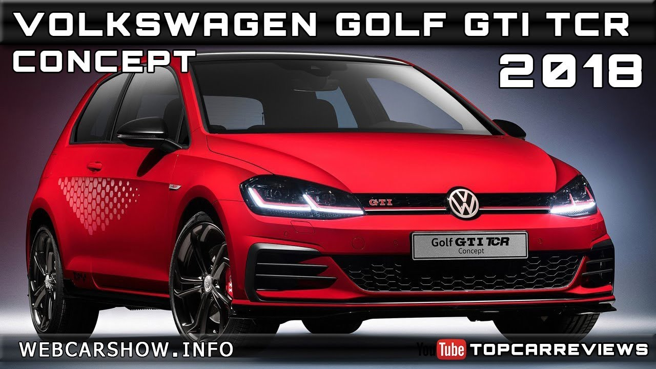2018 volkswagen golf gti tcr concept review rendered price specs release date