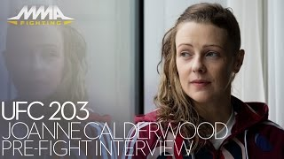UFC 203: Joanne Calderwood Discusses Newfound Happiness, Contract, More