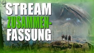 Destiny 2 Stream - Zusammenfassung Deutsch German