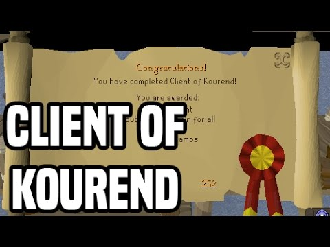 Client of Kourend - Quest Guide