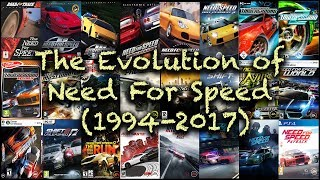 🎮 The Evolution of Need For Speed (1994-2017) | NFS 1994 සිට 2017 දක්වා පරිණාමය වූ හැටි