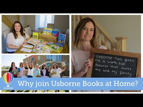 Join Usborne Books at Home