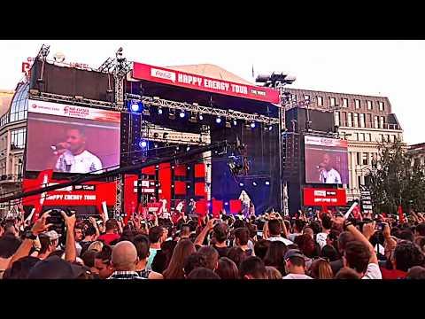 coca cola the voice happy energy tour 2017 Sofia