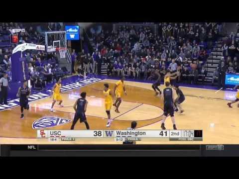 Men's Basketball: USC 82, Washington 74 - Highlights 2/1/17