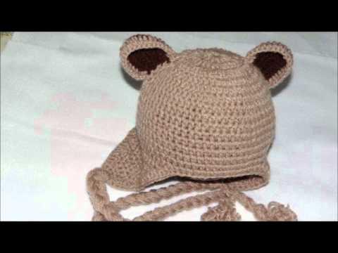 f8cfd1b1716bf Boinas e toucas em Crochê!!! - YouTube