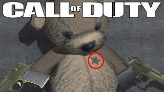 The Secret Behind the Teddy Bear Easter Egg (Call of Duty Easter Egg)