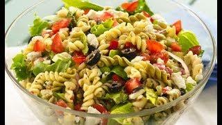 Салат с макаронами по-итальянски