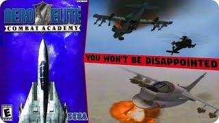 An Excellent Flight Simulator - AERO ELITE: COMBAT ACADEMY INTRO & Gameplay PS2 HD