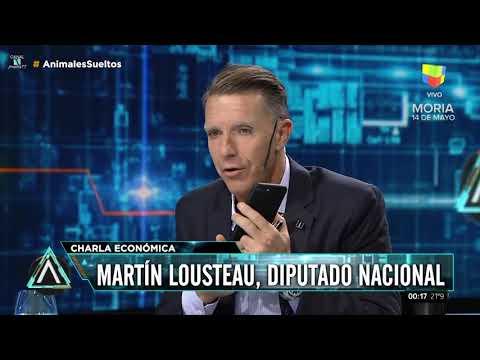 Economia Argentina 07/05/18 por Martin Lousteau con Fantino lastima que lo interrumpe tanto