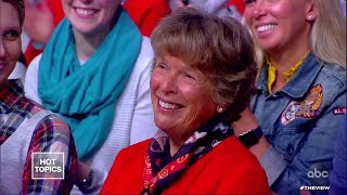 Co-Hosts Say Hello to Abby Huntsman's Grandma | The View