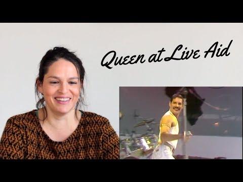 An opera singer's take on Freddie Mercury at Live Aid
