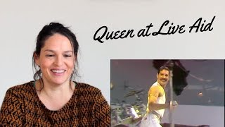 An opera singer's take on Freddie Mercury at Live Aid