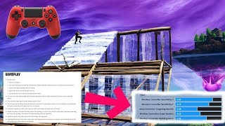 *NEW* INSTANT Builds on Console + They added BUILDING Sensitivity Mp3