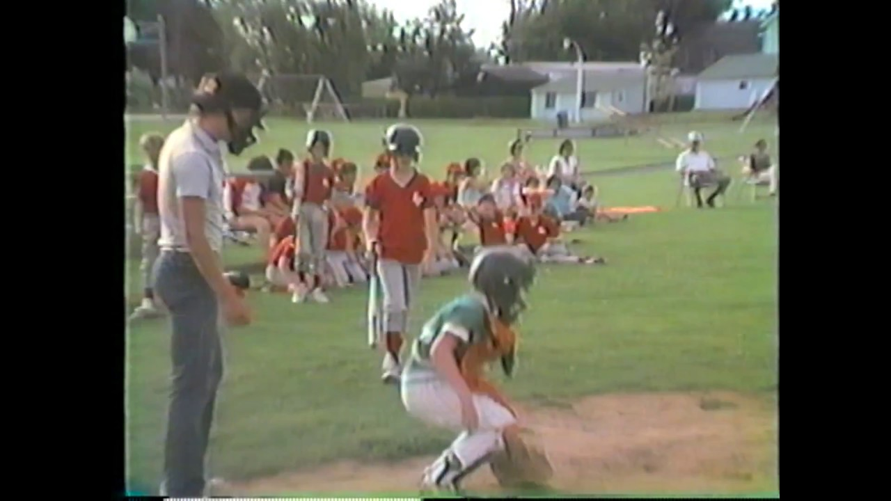 Rouses Point - Chazy PeeWee Baseball  7-8-86