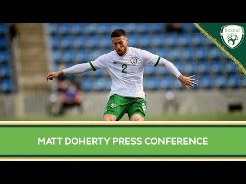 PRESS CONFERENCE   Matt Doherty