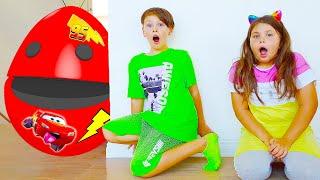 계란무엇으로 변할까요?! 아드리아나 마법깜짝 달걀 Color Egg Surprise With Toys  new Stories For Kids
