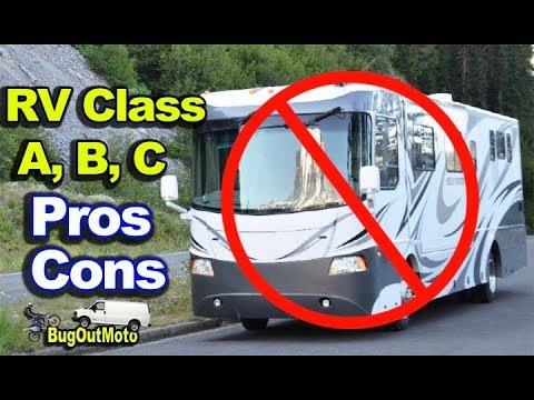 Why I Chose Camper Van Build - RV Class A, B, C  Pros/Cons