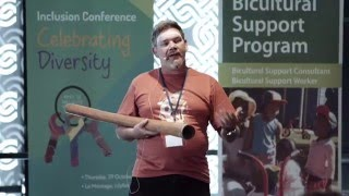 ECSC Inclusion Conference - Matthew Doyle, Wuruniri Music & Dance