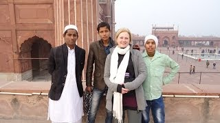 Places to visit in Delhi : Jama Masjid mosque