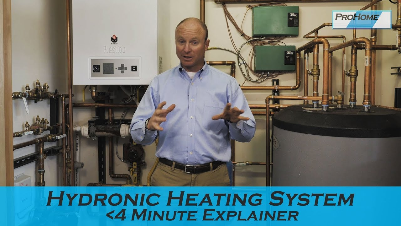 The Main Parts Hydronic Heating System Your Home Youtube