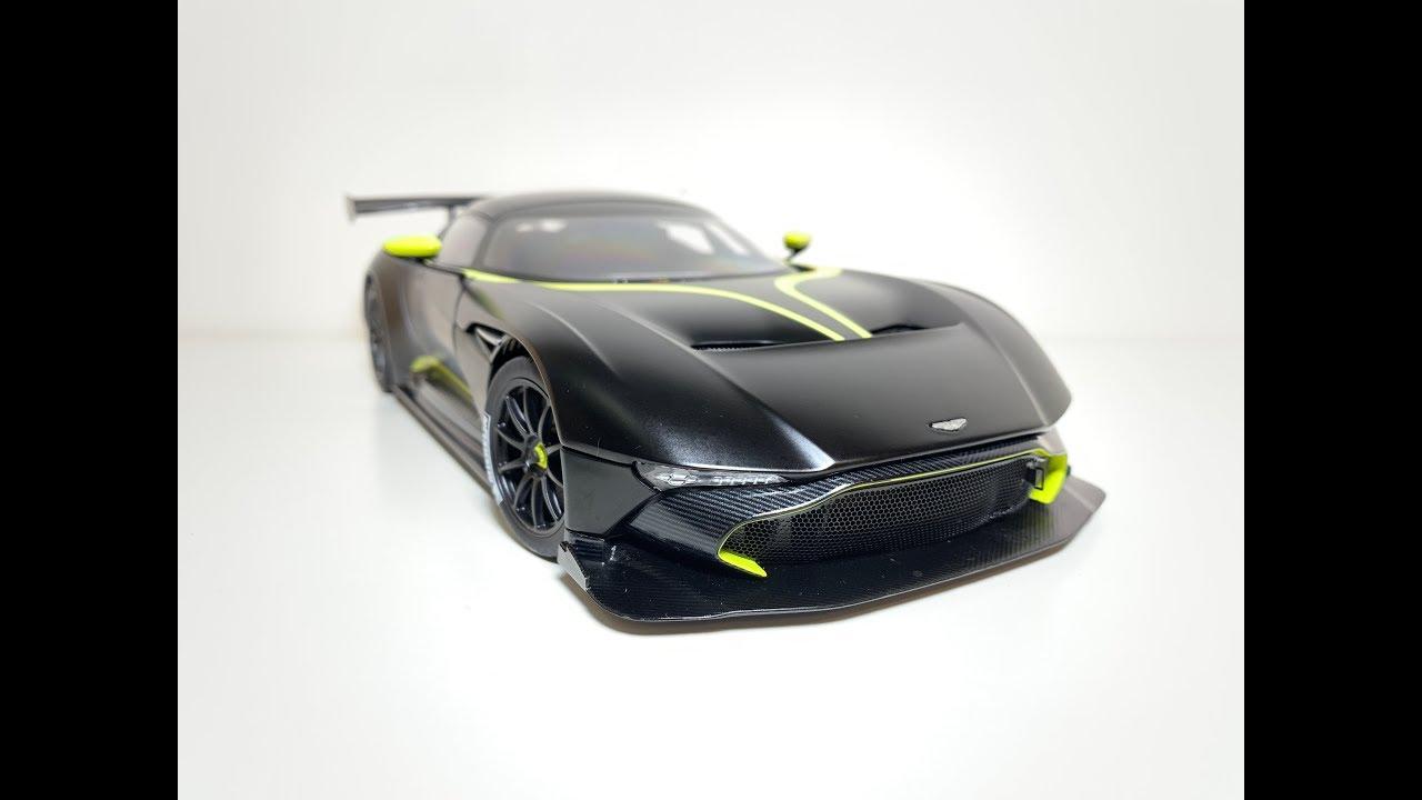 1 18 Autoart Aston Martin Vulcan 70262 Youtube