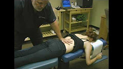 Chiropractic Adjustment For Lower Back Pain Demonstration by Austin Chiropractic Care