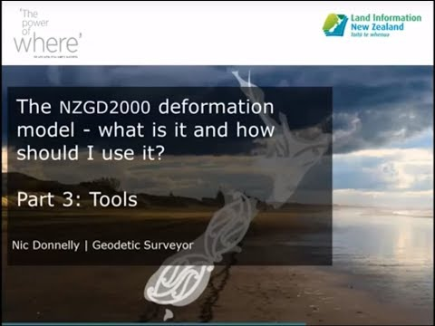 NZGD2000 - What is it and how do I use it - Part 3 - Tools
