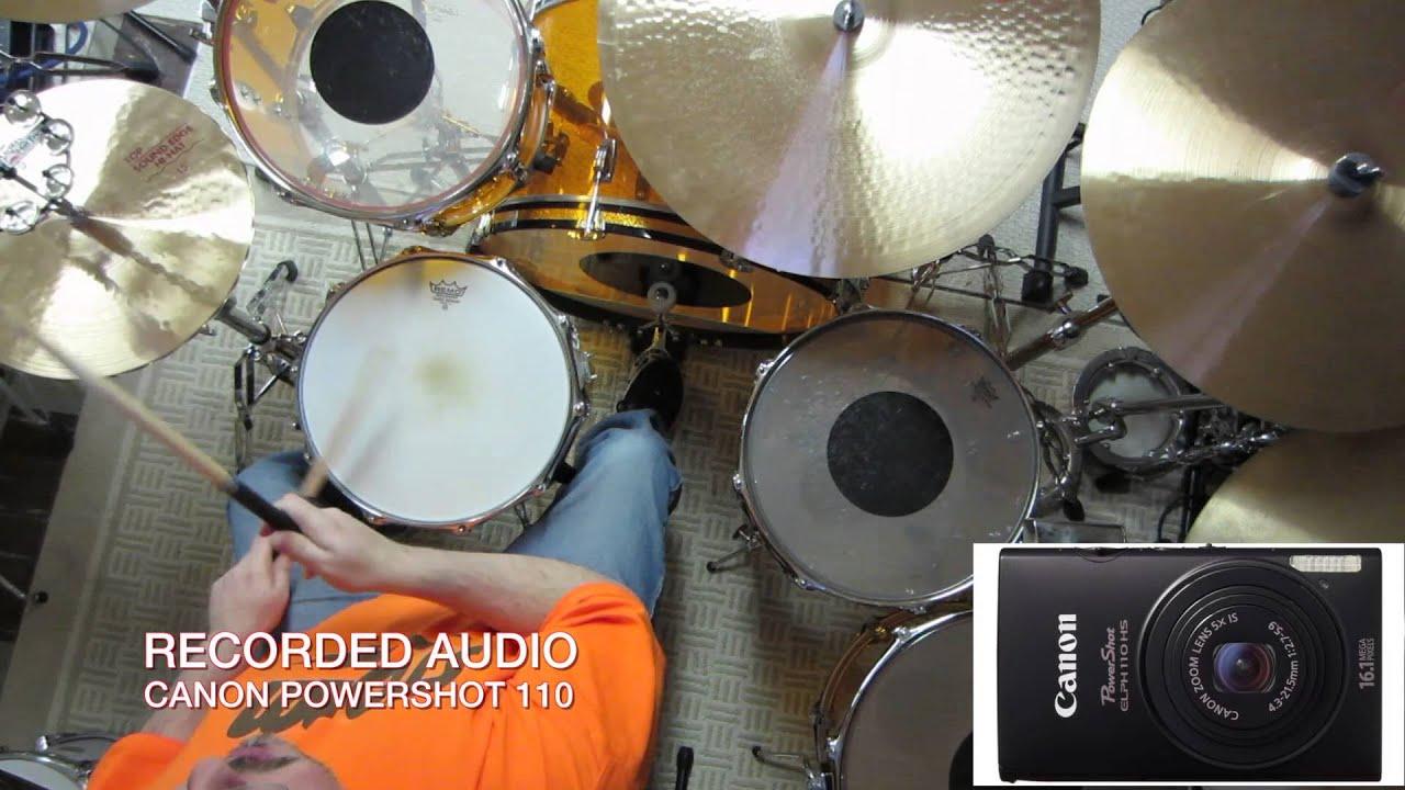 John Bonham Drum Set Audio & Hi-hat Stands