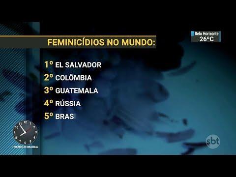 Senado deve votar esta semana o aumento de pena para feminicídios   SBT Brasil (12/03/18)