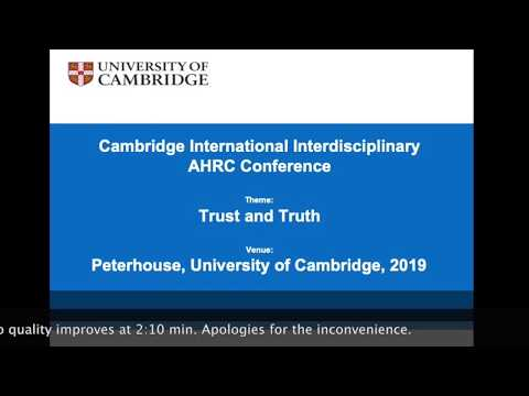 International Conference Cambridge Technopopulism European Identity 19th Célia Depommier Cotton
