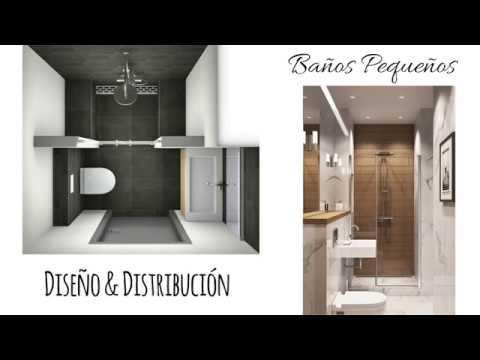 BAÑOS PEQUEÑOS IDEAS DECORACIÓN / SMALL BATHROOM DESIGN IDEAS / AVanguardia