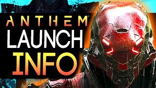 Anthem | New Info - Important News on Release Date / Time for Early Access + Short Film Trailer