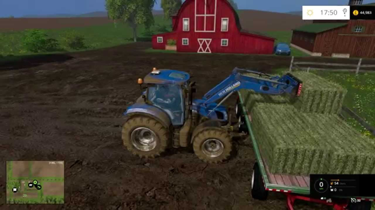 Farming Simulator Getting Ready For The Cows YouTube - Farming simulator 2015 us map feed cows